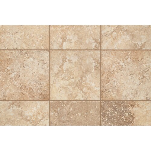 "Mohawk Flooring Natural Orleans 13"" x 3"" Bullnose Tile Trim in Sunset Gold"
