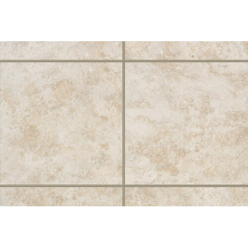 "Mohawk Flooring Ristano 6"" x 1"" Quarter Round Tile Trim in Bianco"