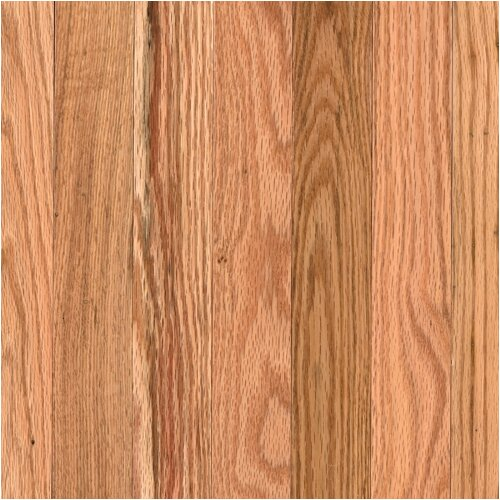 """Mohawk Flooring Lineage Rivermont 2-1/4"""" Solid Red Oak Flooring in Natural"""
