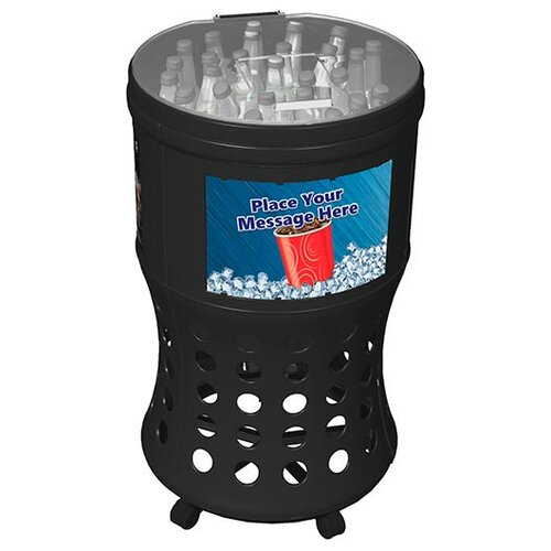 Commercial Zone Islander Series Freedom Ice Barrel Cooler