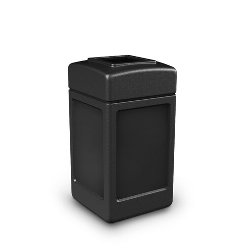 Commercial Zone Square Waste Container