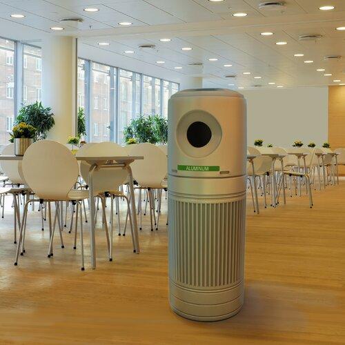 Commercial Zone Green Zone 30 Gallon LitterMate Industrial Recycling Bin