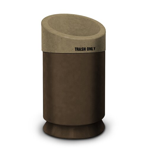 Commercial Zone Galaxy 35 Gallon Waste Receptacle