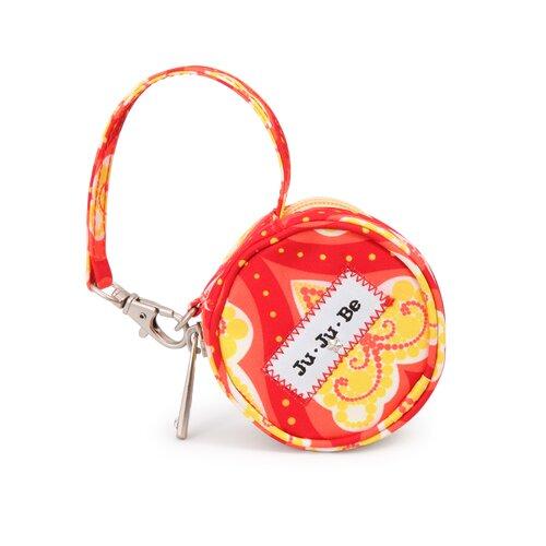 Ju Ju Be Paci Pod Zippered Pacifier Holder Diaper Bag