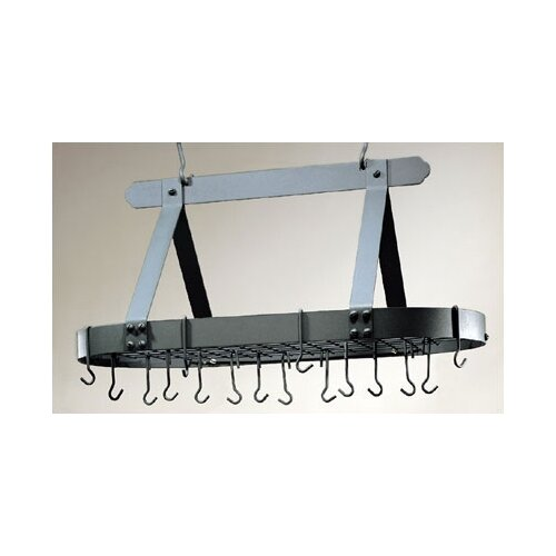 Old Dutch International Oval Pot Rack with Grid and  Hooks