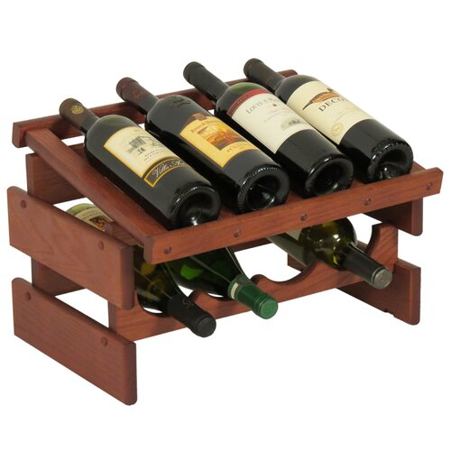 Wooden Mallet Dakota 8 Bottle Wine Rack