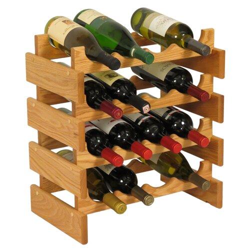 Wooden Mallet Dakota 16 Bottle Wine Rack