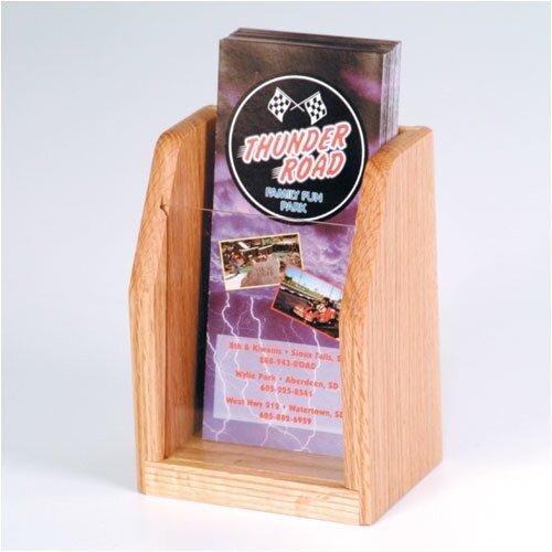 Wooden Mallet Countertop 1 Pocket Brochure Display