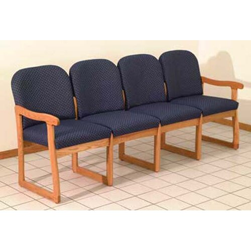 Wooden Mallet Prairie Four Seat Guest Chair