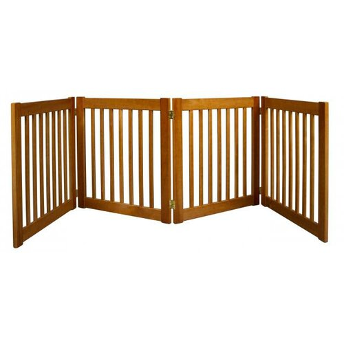 Dynamic Accents Highlander 4 Panel Free Standing Pet Gate