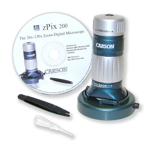 Carson z-Pix Digital Microscope, VGA Resolution
