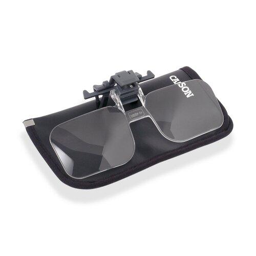 Carson Clip and Flip 2x Magnifier Lenses