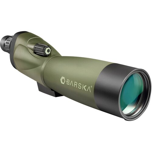 Barska 20-60x60 WP, Blackhawk Spotting Scopes, Straight, MC, Green Lens with Tripod, Soft CC and Premium HC