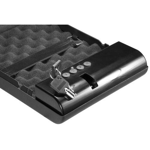 barska digital keypad lock compact portable safe reviews. Black Bedroom Furniture Sets. Home Design Ideas