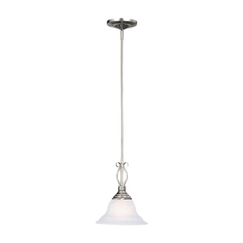 Wildon Home ® Polar 1 Light Mini Pendant