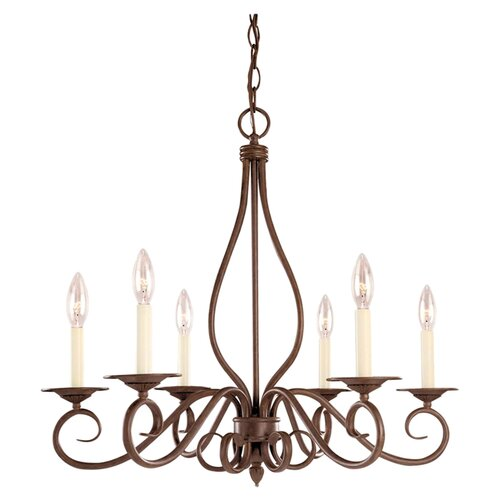 Wildon Home ® Bryce 6 Light Chandelier