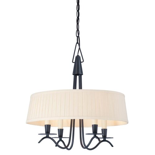 Wildon Home ® Plymouth 4 Light Drum Pendant