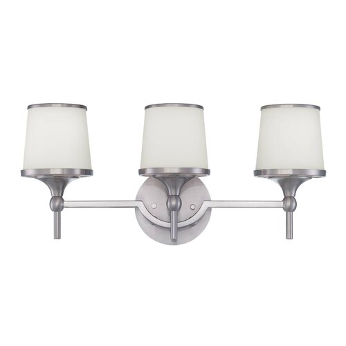 Wildon Home ® Mason 3 Light Bath Vanity Light