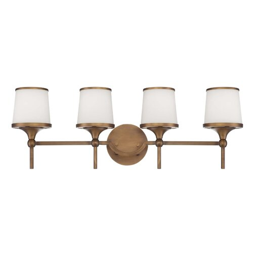 Wildon Home ® Mason 4 Light Bath Vanity Light
