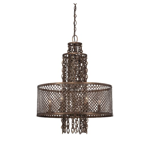 Barclay 6 Light Drum Chandelier