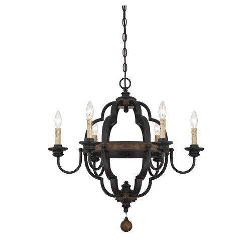 Wildon Home ® Kelsey 6 Light Candle Chandelier