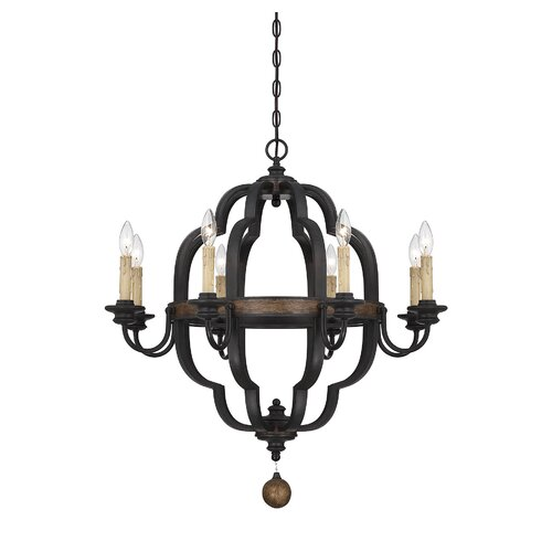 Wildon Home ® Kelsey 8 Light Candle Chandelier
