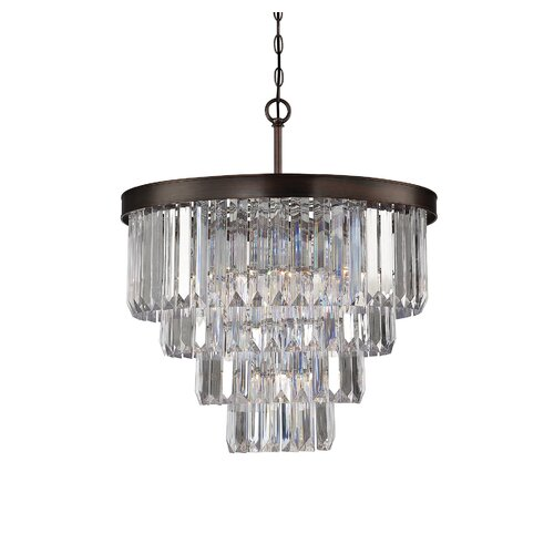 Wildon Home ® Tierney 6 Light Crystal Chandelier