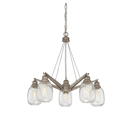 Wildon Home ® Orsay 5 Light Chandelier