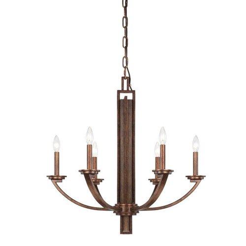Wildon Home ® Saitama 6 Light Candle Chandelier