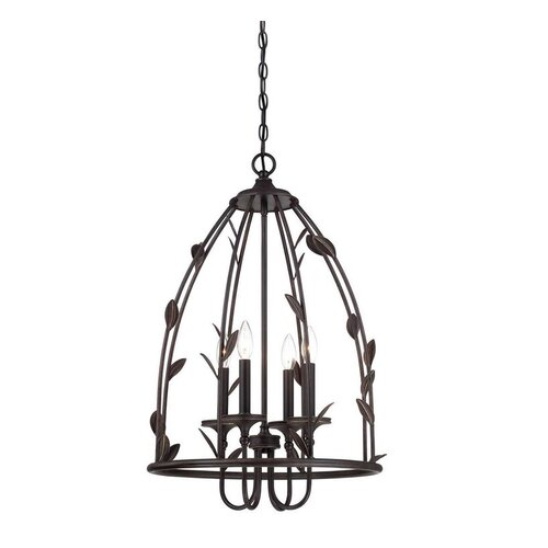 Wildon Home ® Euclid 4 Light Foyer Pendant