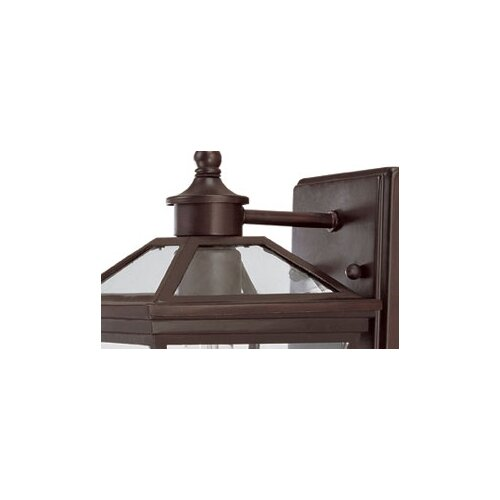 Wildon Home ® Ontario 1 Light Outdoor Wall Lantern