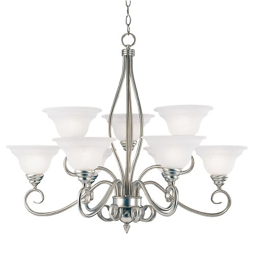 Wildon Home ® Polar 9 Light Chandelier