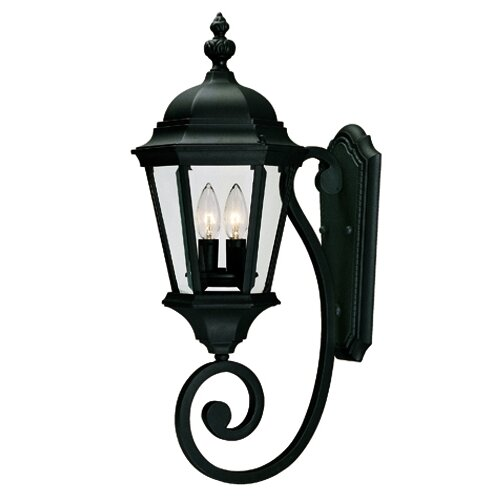 Wildon Home ® Wakefield 2 Light Outdoor Wall Lantern