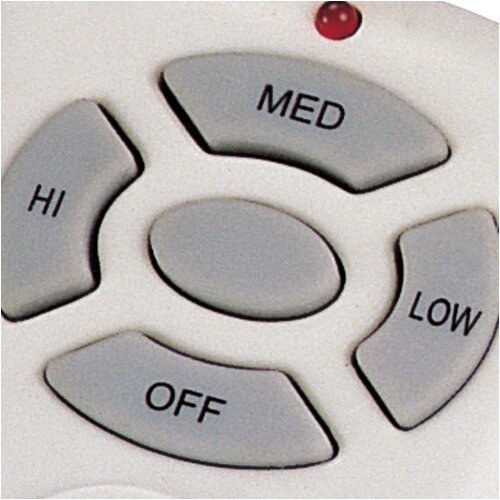 Wildon Home ® Non- Reverse Hand Held Fan / Light Remote Control