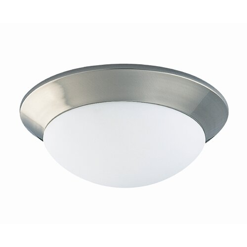 Wildon Home ® 2 Light Outdoor Flush Mount