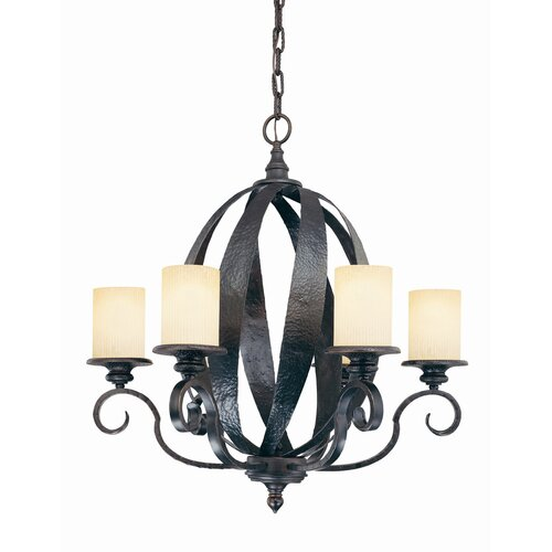Wildon Home ® Ruby 6 Light Indoor Chandelier