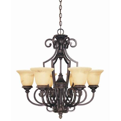 Wildon Home ® Knight 6 Light Chandelier
