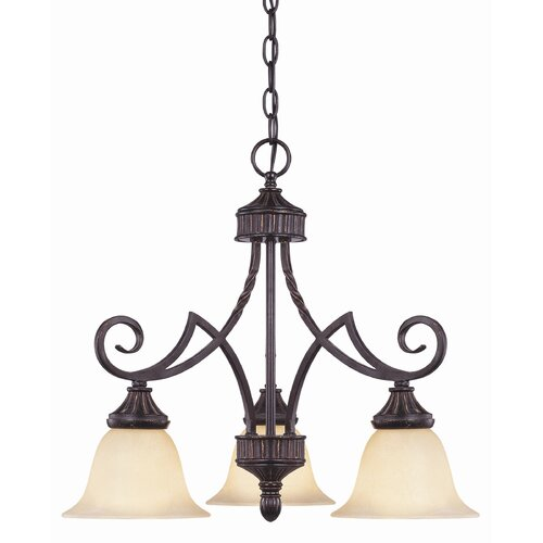 Wildon Home ® Legend 3 Light Down Chandelier