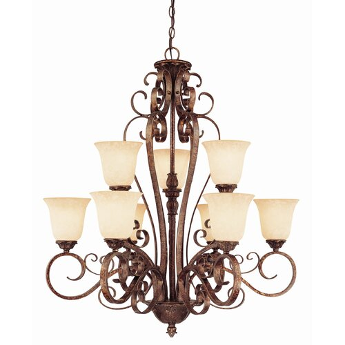 Wildon Home ® Rue De Ville 9 Light Chandelier