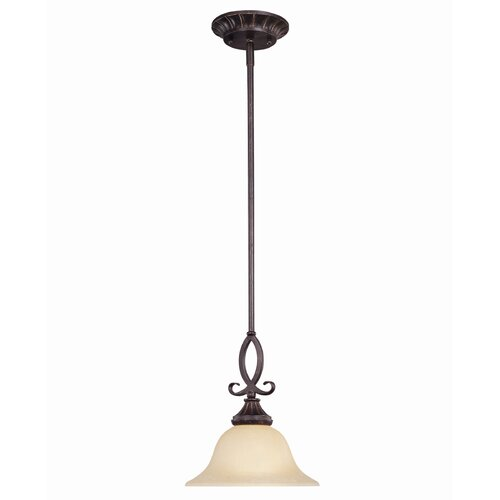 Wildon Home ® Legend 1 Light Mini Pendant