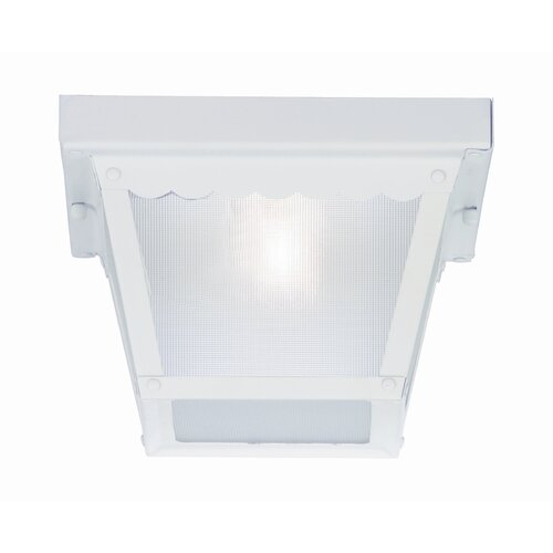 Wildon Home ® 1 Light Outdoor Flush Mount
