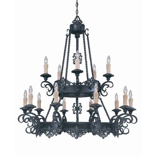 Wildon Home ® Upper Gull 15 Light Chandelier