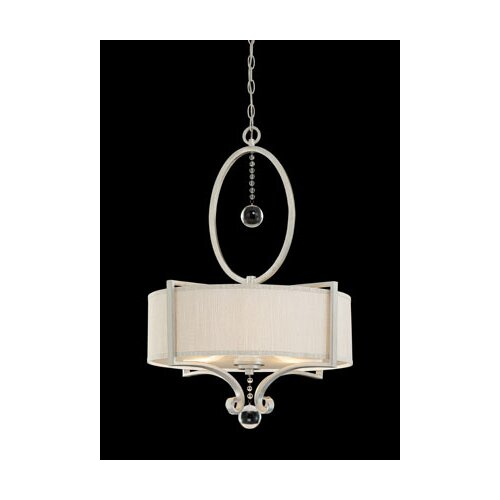 Wildon Home ® Canyon 3 Light Drum Pendant Sparkle
