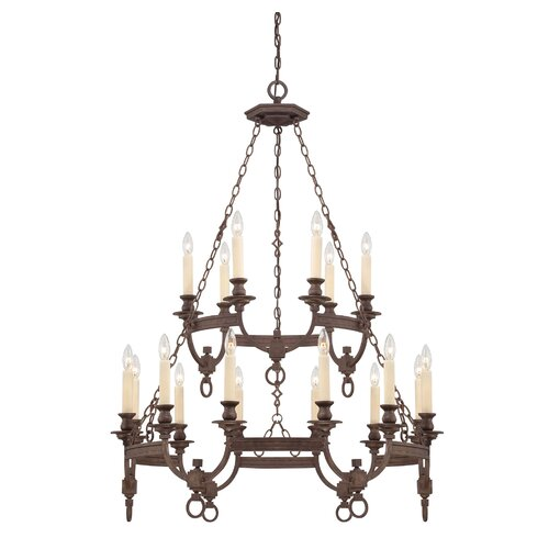 Wildon Home ® Bastille 18 Light Chandelier