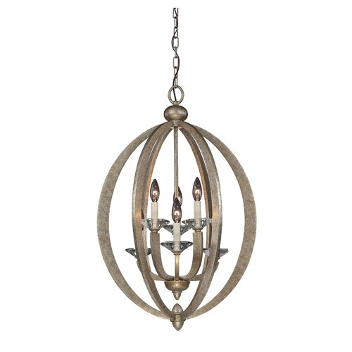 Morgan 6 Light Foyer Pendant