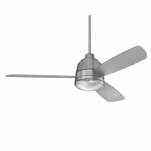 "Wildon Home ® 52"" The Conway 3 Blade Ceiling Fan with Remote"