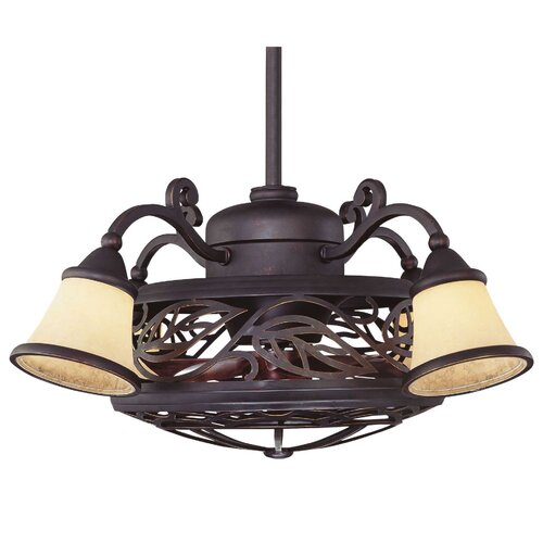 Wildon Home ® Bartlett 4 Light Fan Chandelier