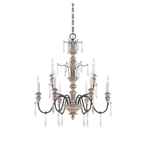 Wildon Home ® Hopkinton 9 Light Chandelier
