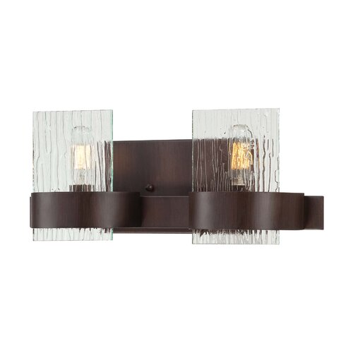 Wildon Home ® Brione 2 Light Bath Vanity Light