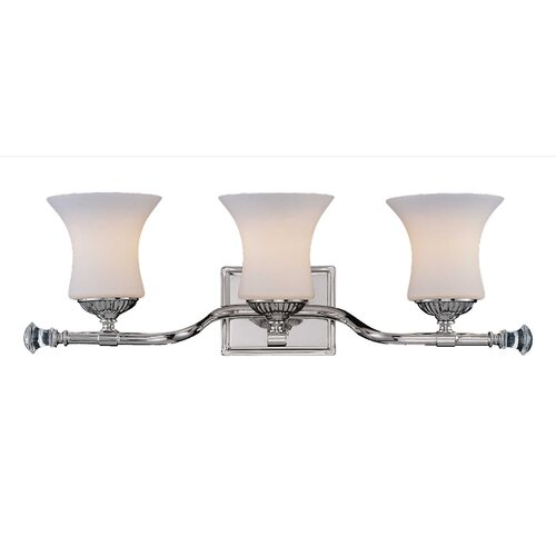 Wildon Home ® Jemmy 3 Light Bath Vanity Light